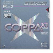 Donic Coppa X1 Turbo Platin borítás
