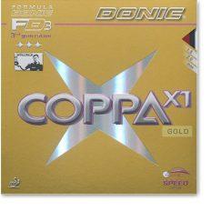 Donic Coppa X1 Gold borítás
