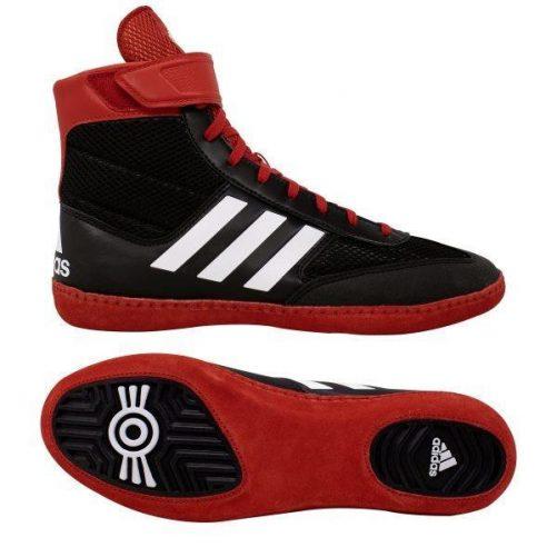 Adidas-Combat-speed-V-birkozo-cipo-fekete-piros