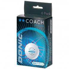 Donic Coach P40+ cell-free edzőlabda 6db-os