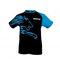 Donic T-Shirt Lion fekete-kék póló