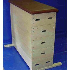Tornaszekrény, 5részes, egyenes old. , műbőr borítással - cikkszám: 1013