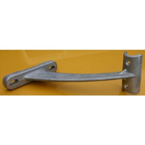 Balettrúd konzol falra, natúr alumínium, egyes - cikkszám: 1034