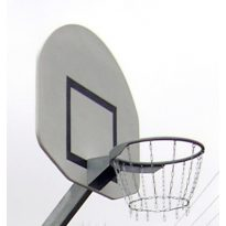 Streetball palánk, 900x1200 mm festve, merevítő betéttel  - cikkszám: 1108