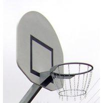 Streetball palánk 910 x 670 mm festve, merevítő betéttel  - cikkszám: 1109