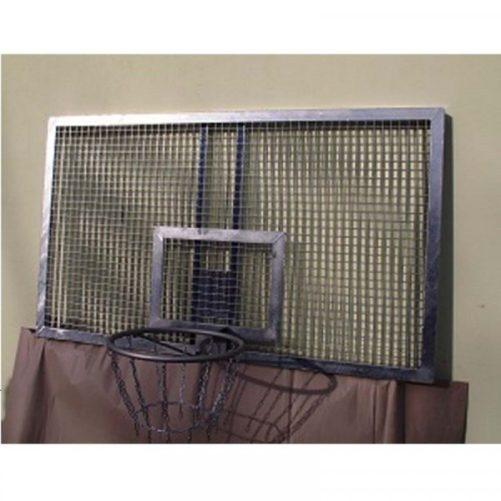 Kosárlabda palánk horganyzott laposvas rácsból, 105x180cm - cikkszám: 1111