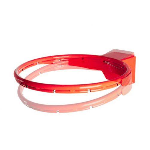 Kosárgyűrű, rugós, verseny, állítható rugóerővel  - cikkszám: 1125
