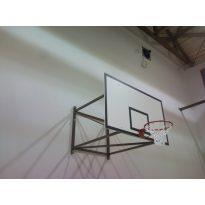 Kosárállvány, fali fix, 3 m benyúlásig  - cikkszám: 1135