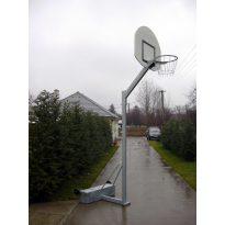 Streetball állvány, ellensúlyos, gurítható, 0,6 m benyúlással,  tűzihorganyzott - cikkszám: 1151H