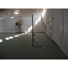 Kombinált állvány tenisz és röplabda, hüvelyes, hüvelyekkel, horganyzott - cikkszám: 1203