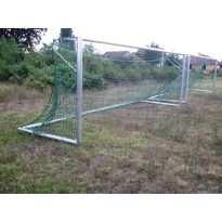 focikapu kétoldalas, hordozható, tűzihorganyzott vasalattal, műanyag hálószemmel - cikkszám: 1338