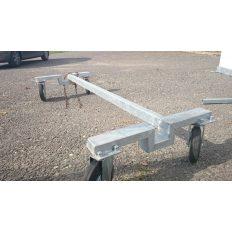 Hordozható focikapuhoz kocsi 4 db 200mm-es kerékkel, 2 darabos készlet - cikkszám: 1339