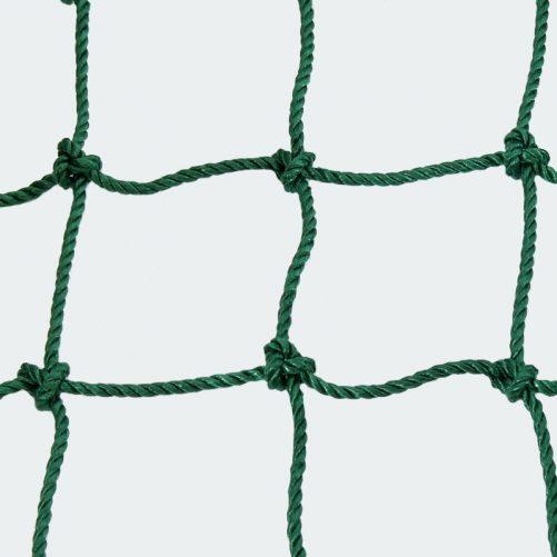 Kültéri védőháló zöld színben 3mm-es 4.5x4.5cm - cikkszám: 1644