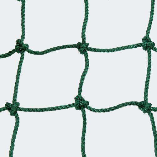 Kültéri védőháló zöld színben 3mm-es 10x10cm - cikkszám: 1645