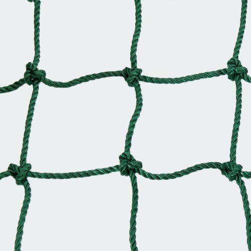 Kültéri védőháló zöld színben 3mm-es 14x14cm - cikkszám: 1646