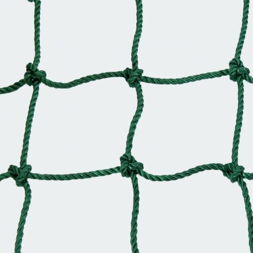 Kézilabda ejtőháló, 10x10  Ø5mm-es zöld anyagból - cikkszám: 1652
