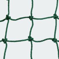 Védőháló, 15x15 Ø5mm-es zöld anyagból - cikkszám: 1655