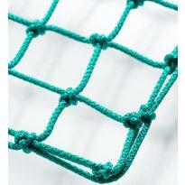 Labdarugó-kapuháló 5x2m 12x12 Ø5mm-es zöld anyagból 6kg/db - cikkszám: 1659