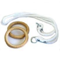 Kötélszáras gyűrűhinta, 5,2 m-ig állítható, 16mm-es kötél     - cikkszám: 1740