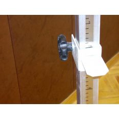 Fém mércére csúszka, 5cm-enként 9 fix magassággal - cikkszám: 2029