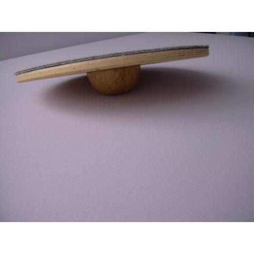 Egyensúlyozó korong, 35 cm-es filces, alján gombbal - cikkszám: 5005