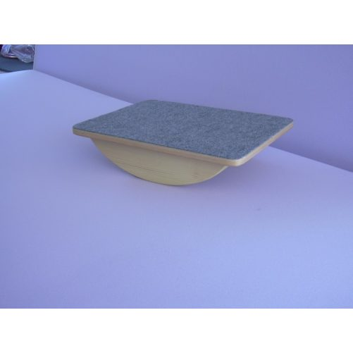 Billenő talp 40x30cm filces, fenyő ivvel - cikkszám: 5013