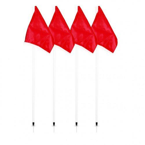 Piros színű elasztikus zászló - cikkszám: 7031