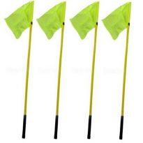 Sárga színű elasztikus zászló - cikkszám: 7032