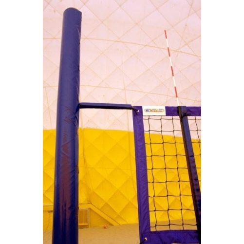 Strandröplabda oszlopra polifoam védőcső PVC ponyva borítással - cikkszám: 7054