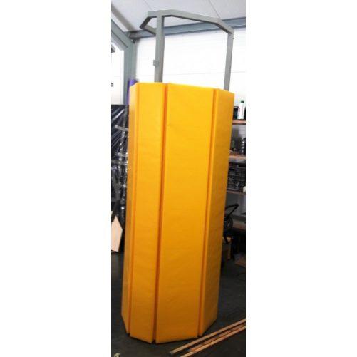 Strandröplabdhoz bírói állvány oszlopra szerelhető, polifoam borítással - cikkszám: 7055