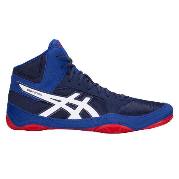 25568f4a0ddf Asics Snapdown 2 birkózó cipő kék-piros-fehér (J703Y-400) - CSAPAT ...