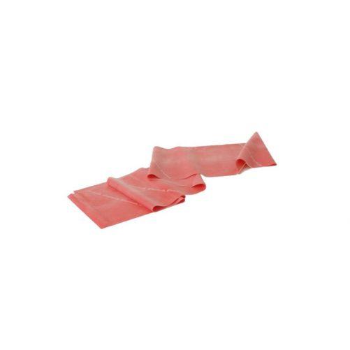 Theraband gumiszalag 150 cm piros,közepes