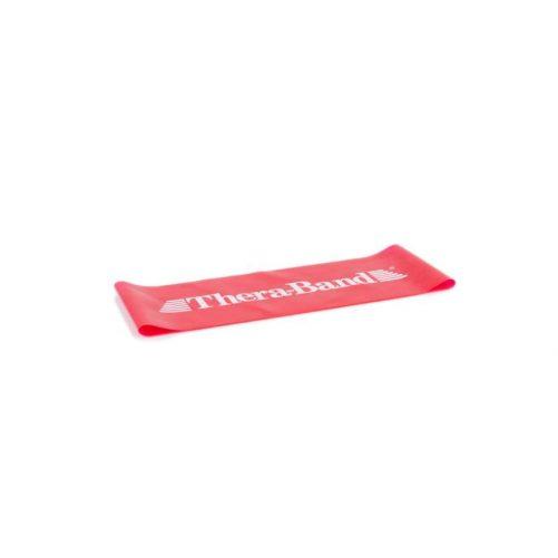 Theraband Gumiszalag hurok, 20,5 cm, piros