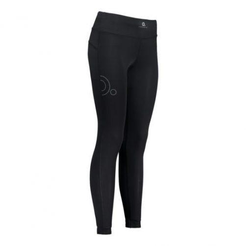 Zeropoint Athletic Női Kompressziós Nadrág Solid, fekete (Athletic Compression Tights Women)