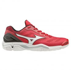 Mizuno Wave Stealth V (X1GA180062) Tomato / White / Black