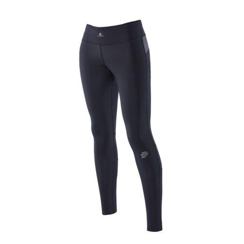 Zeropoint Athletic Női Kompressziós Nadrág, fekete-szürke (Athletic Compression Tights Women-black/titanium)