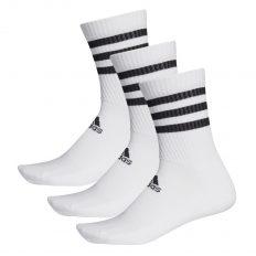 Adidas 3S cushioned crew zokni fehér (DZ9346)