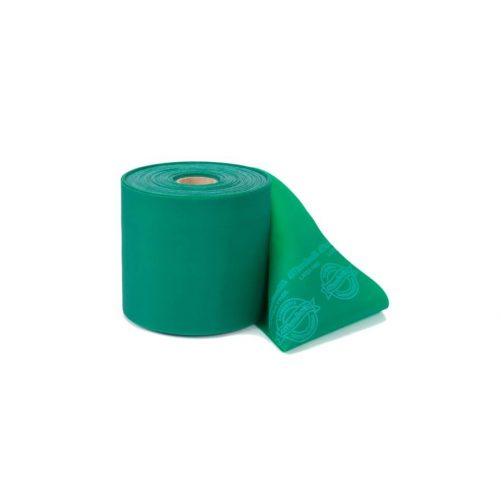 Theraband Latexmentes gumiszalag 22 m zöld