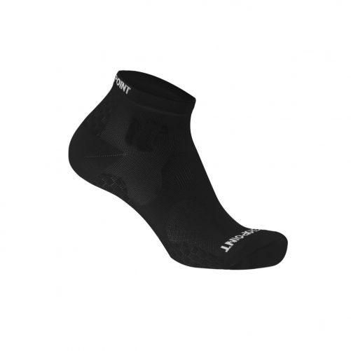 Zeropoint Kompressziós Bokazokni, fekete (Compression Performance Ankle Sock OX)