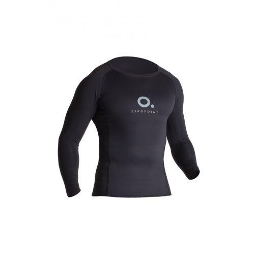 Zeropoint Power Férfi Kompressziós Hosszú Ujjú Felső, fekete (Power Compression LS Shirt Men)
