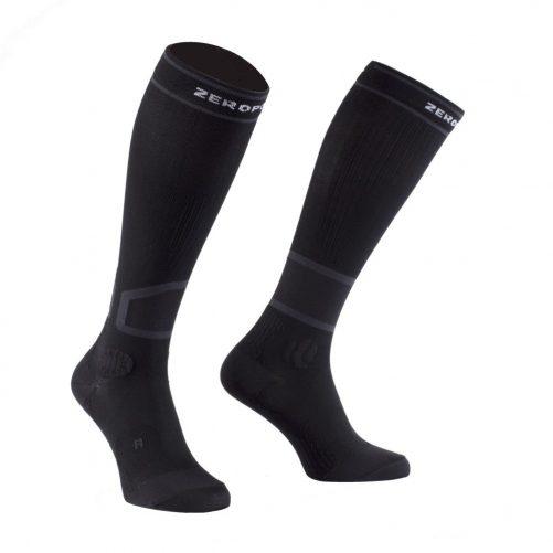 Zeropoint Intenzív 2.0 Kompressziós Zokni, fekete (Intense 2.0 Compression Socks)