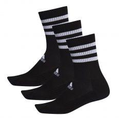 Adidas 3S cushioned crew zokni fekete (DZ9347)