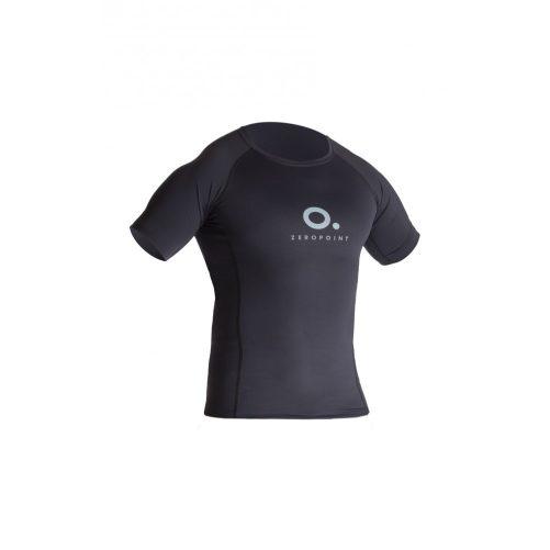 Zeropoint Power Férfi Kompressziós Rövid Ujjú Felső, fekete (Power Comperssion  T-Shirt Men)