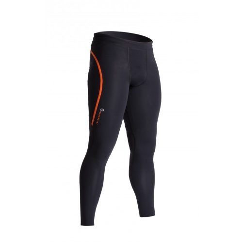Zeropoint Power Kompressziós Nadrág, fekete-narancs (Power Compression Tights Men)