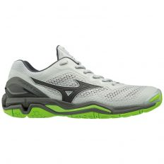 Mizuno Wave Stealth V (X1GA180037) High Rise / Black / Green Gecko
