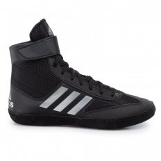 Adidas Combat Speed V birkózó cipő (fekete-ezüst)