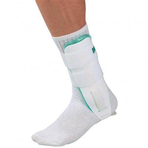 Mueller-Jegterapias-bokarogzito-Gel-Ankle-Brace-white-cold-therapy-4556