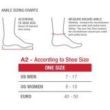 Mueller Gel Ankle Brace, white, cold therapy (cikkszám: 4556)