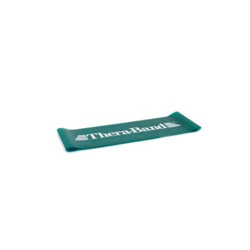 Theraband Loop-Gumiszalag hurok 20,5 cm zöld