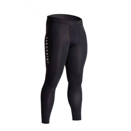 Zeropoint Athletic Férfi Kompressziós Nadrág, fekete-fehér (Athletic compression tights Men)